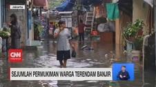 VIDEO: Pasca Hujan Deras, Jalan Kemang Kebanjiran