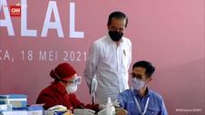 VIDEO: Jokowi Tinjau Pelaksanaan Vaksinasi Gotong Royong