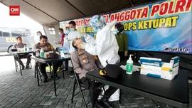 VIDEO: 400 Anggota Polisi Di Mojokerto Dites Swab PCR
