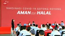 VIDEO: 22.736 Perusahaan Terdaftar Vaksinasi Gotong Royong