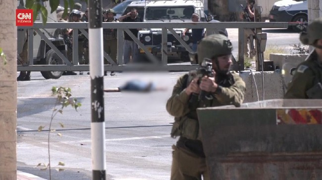 VIDEO: Warga Palestina Terkapar Ditembak Mati Militer Israel