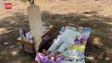 VIDEO: Covid-19 India Meluas, Pasien Dirawat di Bawah Pohon