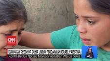 VIDEO: Dukungan Artis Dunia Untuk Perdamaian Israel-Palestina