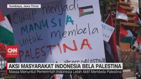 VIDEO: Aksi Masyarakat Indonesia Bela Palestina