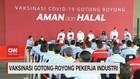 VIDEO: Vaksinasi Gotong Royong Pekerja Industri