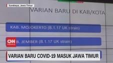 VIDEO: Varian Baru Covid-19 Masuk Jawa Timur