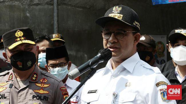 Gubernur DKI Jakarta Anies Baswedan menyebut jumlah warga yang menjalani vaksinasi tahap 1 telah mencapai 3 juta orang.