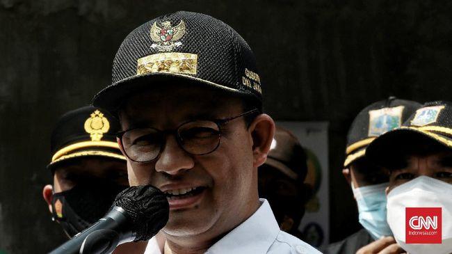Gubernur DKI Jakarta Anies Baswedan mendorong warga berusia di atas 18 tahun lekas divaksinasi guna menciptakan kekebalan kelompok (herd immunity).