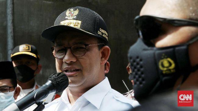 Gubernur DKI Jakarta Anies Baswedan mengklaim 7,1 juta warga sudah divaksinasi covid-19 tahap pertama.