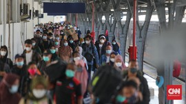 Dinkes: Covid DKI Melonjak karena Mudik, Warga Abai Prokes