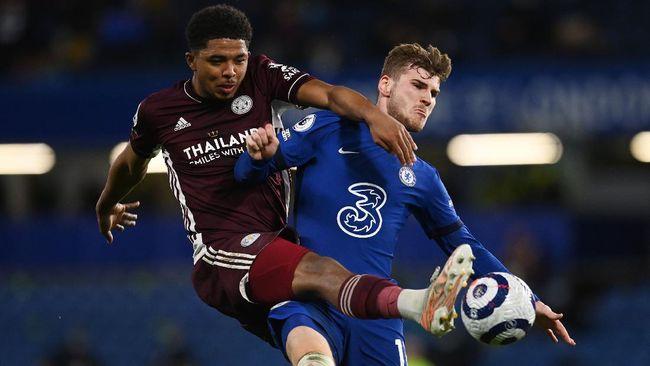 Chelsea berhasil balas dendam dengan mengalahkan Leicester City 2-1 pada pekan ke-37 Liga Inggris di Stadion Stamford Bridge, Rabu (19/5).