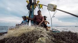 FOTO: Mengarungi Lautan demi Bisa Mudik Lebaran