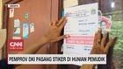 VIDEO: Pemprov DKI Pasang Stiker di Hunian Pemudik