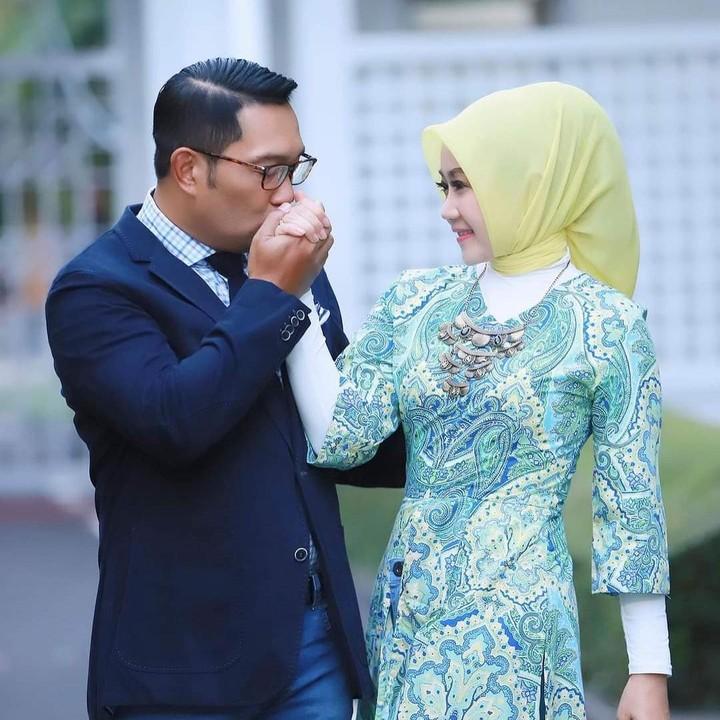 Ridwan Kamil dan istri, Atalia Praratya