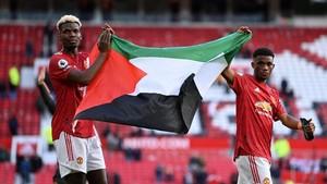 Viral Striker Israel Ubah Bendera Palestina Milik Pogba