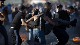 Tentara Israel Tembak Mati Warga Palestina Pelempar Bom Api