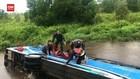 VIDEO: Bus Damri Terjun Ke Sungai, 1 Orang Tewas