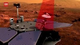 VIDEO: Zhurong Milik China Kirim Data dari Mars ke Bumi