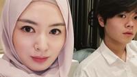 <p>Ayana Moon begitu senang ketika adiknya memutuskan jadi mualaf. Mereka saling membimbing untuk mempelajari Islam lebih dalam. Ayana tak lagi bersedih karena ia tidak lagi sendirian ketika menjalankan puasa Ramadhan. (Foto: Instagram: @aydinmoon)</p>
