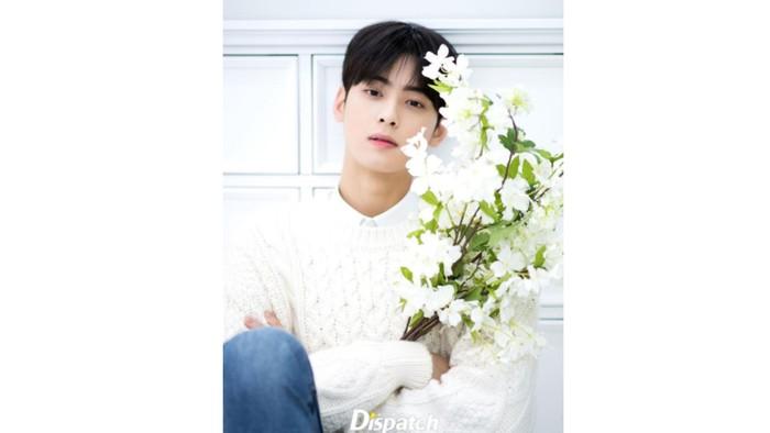 Dari awal kemunculannya, visual Cha Eun Woo sudah menarik perhatian publik / foto: instagram.com/koreadispatch