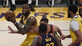 Menang Lawan Warriors, Lakers Lolos Playoff NBA