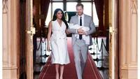 <p>Setahun pertama pernikahan,Pangeran Harry dan Meghan Markle mengabarkan kelahiran anak pertama mereka, Archie Harrison Mountbatten-Windsor. (Foto: Instagram @sussexroyal)</p>
