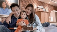 <p>Paula begitu senang bisa melewati bulan Ramadhan dan Idul Fitri dalam keadaan hamil. Kehamilan Paula juga menjadi hadiah bagi Baim Wong ketika berulang tahun. (Foto: Instagram: @paula_verhoeven)</p>