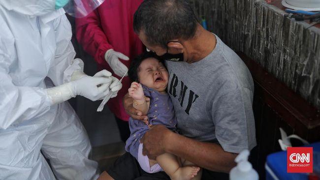 Wamenkes menyebut uji klinis vaksin covid-19 bagi anak usia di bawah 12 tahun diperkirakan rampung 2022 berdasarkan data ITAGI.