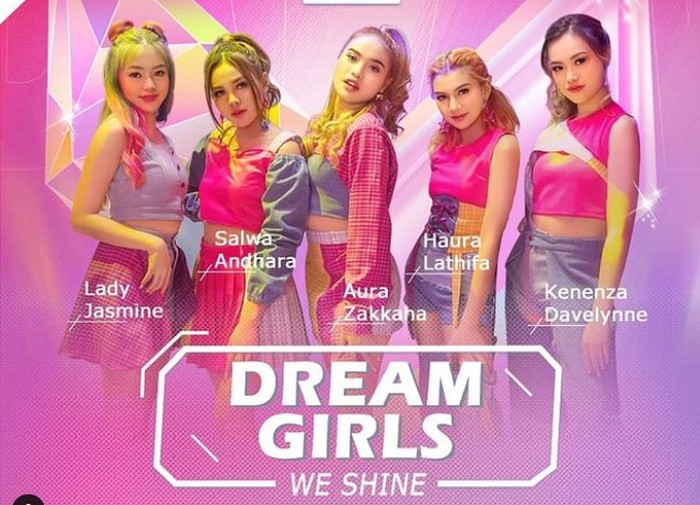 Dream Girls (debut 21 Mei 2021) / foto: instagram.com/dreamgirlsindonesia