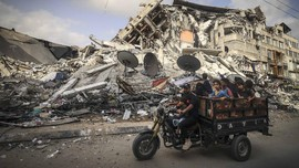 Pilot Israel Serang Bangunan Gaza Sebab Frustrasi Lawan Hamas