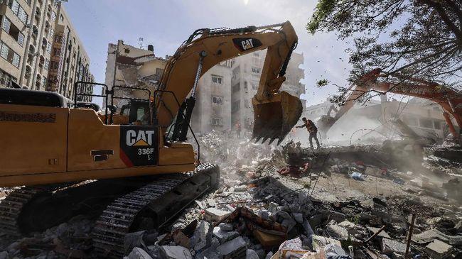 Sebuah apartemen di pantai Miami, Florida runtuh. Sebanyak 99 orang masih dinyatakan hilang.