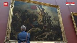 VIDEO: Kembali Melihat Senyum Monalisa di Museum Louvre Paris