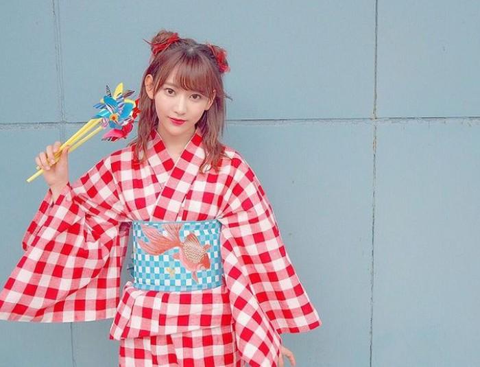 Baru satu tahun debut, Sakura berhasil menduduki posisi 47 dalam AKB48 4th Senbatsu Election, dan menjadi satu-satunya anggota HKT48 yang berhasil masuk dalam ajang tersebut / foto: instagram.com/39saku_chan