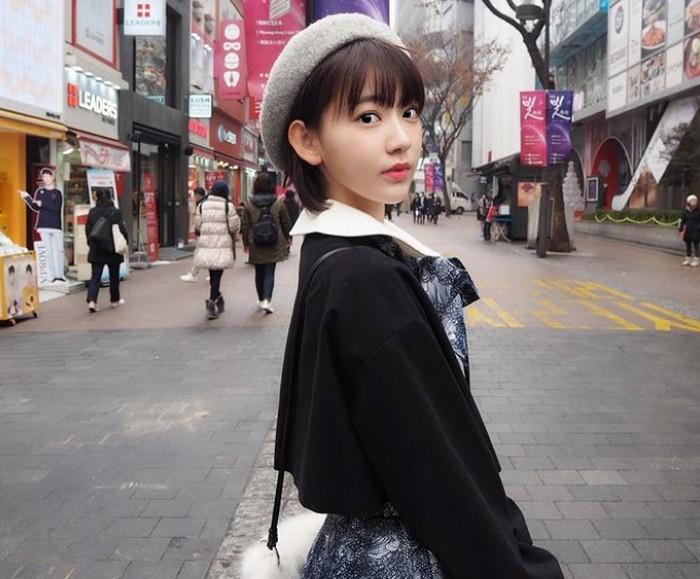 Sakura menjadi salah satu top member dalam 48 grup. Bahkan ia sempat aktif tergabung dalam AKB48 dan HTK48 sekaligus secara bersamaan / foto: instagram.com/39saku_chan