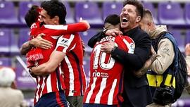 Tawa Atletico di Akhir Era Emas Barcelona dan Madrid