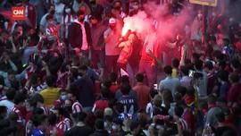 VIDEO: Ribuan Suporter Rayakan Atletico Juara Liga Spanyol