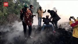 VIDEO: Warga Kongo Jadikan Lava Gunung Nyiragongo Objek Foto