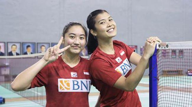 Ganda putri Indonesia Yulfira Barkah/Febby Valencia Dwijayanti Gani juara Spain Master 2021 usai menaklukkan wakil Denmark Amalie Magelund/Freja Ravn.