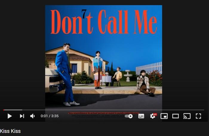 5. Kiss Kiss - 7th Album 'Don't Call Me' (2021) / foto: youtube.com/shinee