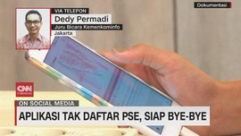 VIDEO: Aplikasi Tak Daftar PSE, Siap Bye-bye