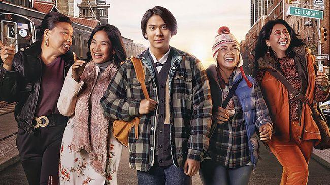 Ali & Ratu Ratu Queens menjadi film Indonesia terbaru yang tayang di layanan streaming Netflix.