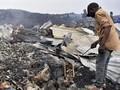 FOTO: Bara Lava Gunung Nyiragongo Lumat Rumah Warga Kongo