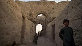 FOTO: Pengungsi di Rumah Liburan Sultan Afghanistan