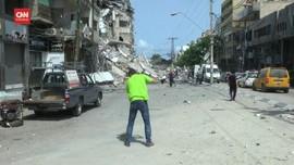 VIDEO: Warga Jalur Gaza Mulai Bangkit usai Gencatan Senjata