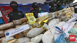 Polisi Gagalkan Selundupan Sabu 3 Kilogram Asal Malaysia
