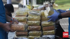 Polisi Bongkar Jaringan Timur Tengah Pemasok 1,1 Ton Sabu