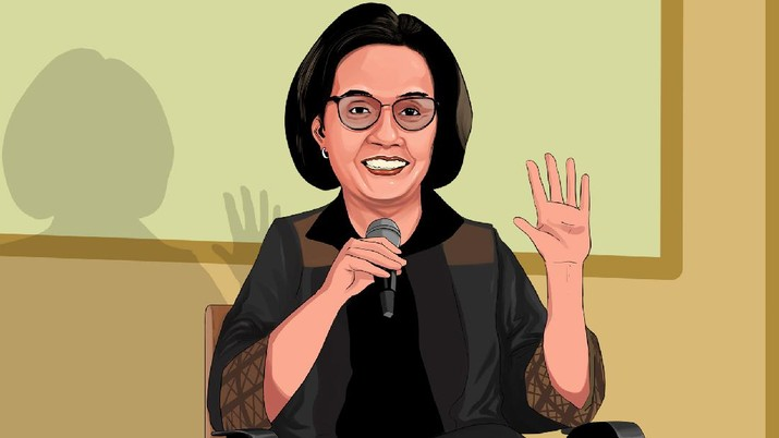INFOGRAFIS, Simak!, Sri Mulyani Ungkap 5 Ancaman Ekonomi Dunia