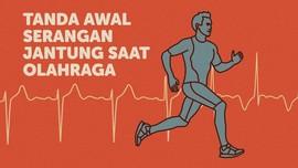 INFOGRAFIS: Tanda Awal Serangan Jantung Saat Berolahraga