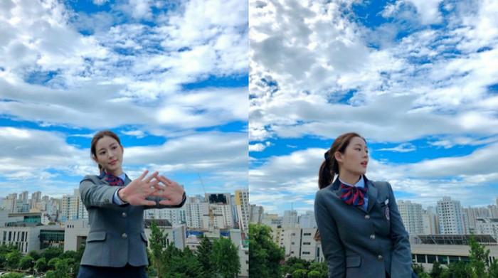 Lee Dain memulai debutnya sebagai seorang aktris di drama Make A Woman Cry yang ditayangkan pada tahun 2015. | instagram.com/xx__dain