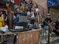 FOTO: Ceria Warga New York Pesta di Luar Ruangan